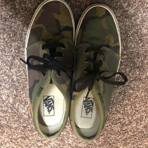 Camouflage vans